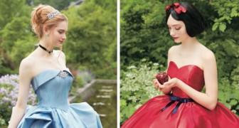 La Disney crea la sua prima collezione di abiti da sposa liberamente ispirati alle sue principesse