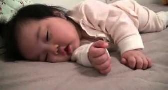 Dur, dur le réveil pour bébé!