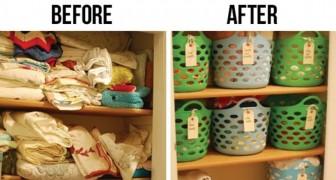 17 idee utilissime per mantenere l'ordine nei vari spazi della casa