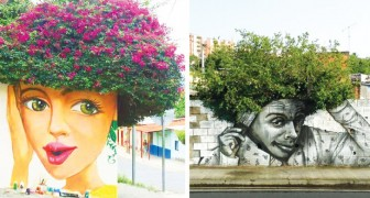 Le Street Art se fond avec la Nature: 19 magnifiques exemples de la façon dont un graffiti peut transformer une ville