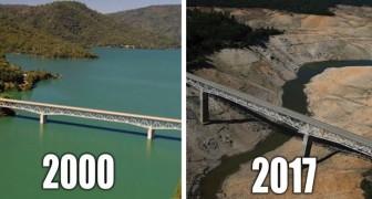 20 Satellitenbilder, die zeigen, wie der Klimawandel unseren Planeten verändert