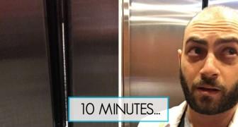 Bloccato in ascensore al suo 1° giorno di pratica medica: il racconto di questo studente diverte tutti