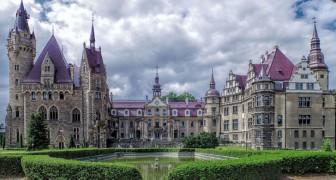Le château de Moszna: l'un des plus beaux châteaux du monde que presque personne ne connaît