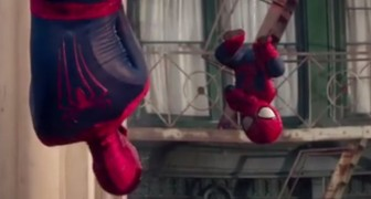 Spot Evian: Spider-Man Dance