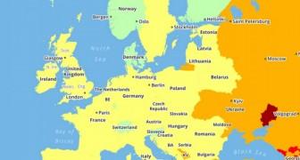 Ces cartes des pays les plus dangereux du monde en 2018 pourraient influencer vos projets de voyage
