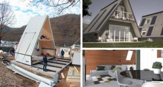 Una casa economica y que se puede construir en pocas horas? Existe y es operado por una empresa italiana
