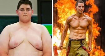 10 years ago he lost more than 176 lb (80 kg) thanks to a television program and now his story is a hymn to life