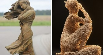 Sculpture impossible: ces statues féminines sont si parfaites qu'elles vous sembleront vivantes