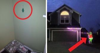 23 personen die geen zin hadden hun huis voor Kerst te versieren en dat heel duidelijk hebben gemaakt