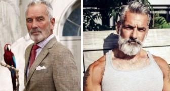 21 hommes magnifiques qui vont vous faire adorer les cheveux gris