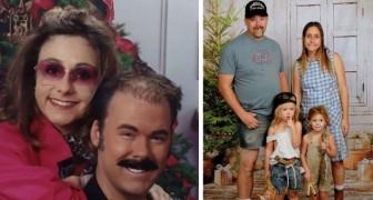 Diese Familie verschickt seit 15 Jahren die absurdesten und witzigsten Weihnachtskarten