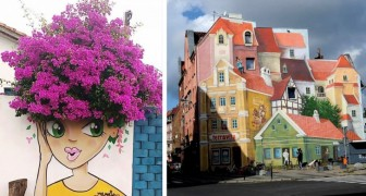 23 brillanti opere di street art che hanno risvegliato il grigio paesaggio urbano