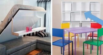 12 geniali idee salva-spazio che ti permetteranno di ordinare la casa con stile
