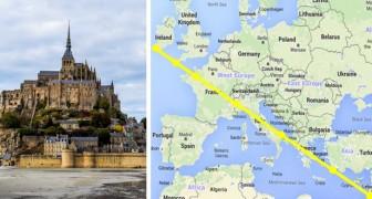 Ces 7 sanctuaires dédiés à l'Archange Saint Michel ont été construits sur une ligne imaginaire parfaite, voilà pourquoi