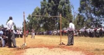 Gli impressionanti salti dei Keniani