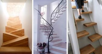 20 images d'escaliers tellement beaux et originaux qu'elles vous donneront envie de refaire les vôtres