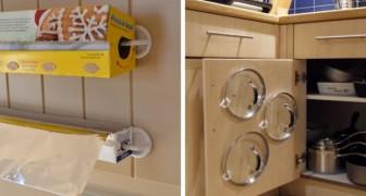 Comment utiliser de simples crochets en plastique pour ranger votre maison et gagner de l'espace.
