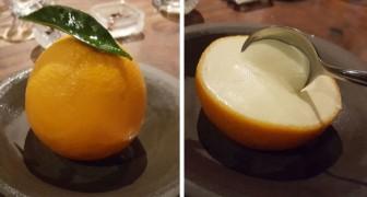 Een meisje laat zien wat je eet als je 600 dollar uitgeeft in een van de beste restaurants ter wereld