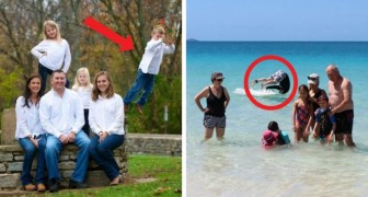 14 impeccable family photos in which something went wrong