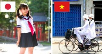 Ecco che aspetto hanno le divise scolastiche in questi 10 Paesi