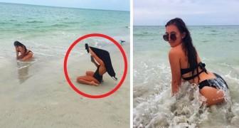 16 leuke foto's die laten zien waar een ECHTE vriendin toe in staat is