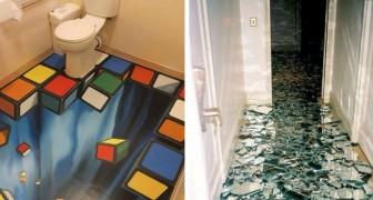 Wanneer je deze originele vloeren ziet, wil je je eigen vloer ook veranderen