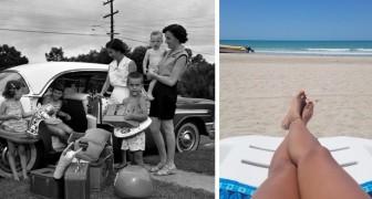 Album fotografici di ieri e di oggi: trova le differenze