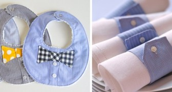 10 überraschende Dinge die du aus einem alten Männerhemd machen kannst