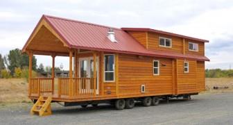 Una casa in legno di 60 mq: uno sguardo all'interno basterà a farvene innamorare