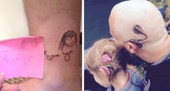 18 veelzeggende tatoeages met een ontroerend verhaal erachter