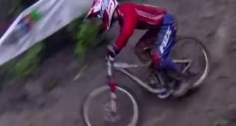 Il campione del mondo di Downhill