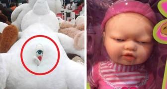 18 beunruhigende Spielzeuge, die nicht einmal in Regalen ausgestellt werden sollten