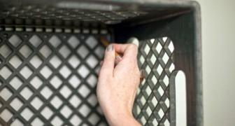 Les caisses en plastique peuvent être réutilisées de plusieurs façons: voici 14 idées originales
