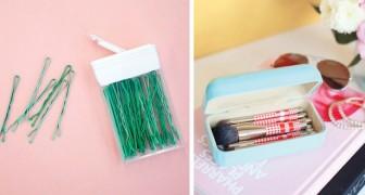 22 soluzioni brillanti per trovare sistemazione agli oggetti più piccoli