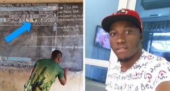 Dieser ghanaische Lehrer hat eine perfekte Word-Kopie für Schüler ohne PC erschaffen