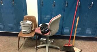Niente più note e punizioni: questa scuola fa fare le pulizie agli studenti che si comportano male