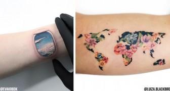 20 idées de tatouage pour les amateurs de voyage