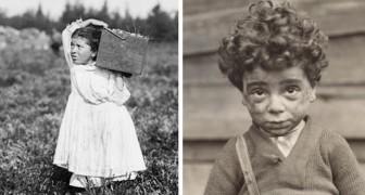12 significativi scatti del fotografo che combatteva il lavoro minorile agli inizi del '900