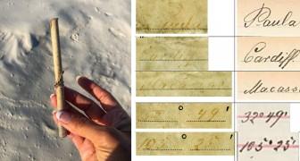 132 ans passés en mer: trouvé en Australie le plus vieux message dans une bouteille