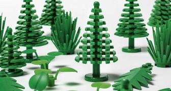 LEGO mette in commercio i primi mattoncini ottenuti da bioplastiche
