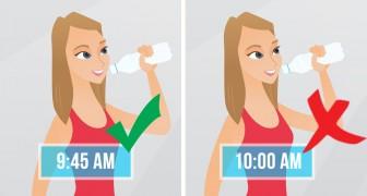 5 situations pendant lesquelles il vaut mieux ne pas boire d'eau