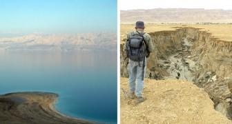 Il Mar Morto sta letteralmente morendo: ogni anno le sue acque si abbassano di 1 metro