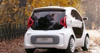 Une entreprise italienne crée la première voiture électrique ENTIÈREMENT avec une imprimante 3D