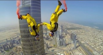 Base jump do Burj Khalifa de Dubai