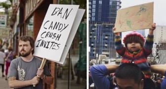 Ecco alcuni tra i cartelli più divertenti e geniali che abbiate mai visto in una manifestazione