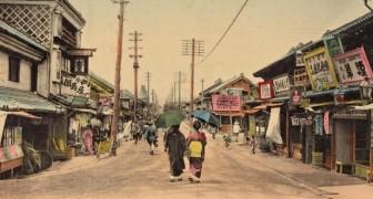 14 ingekleurde ansichtkaarten van 100 jaar geleden die het vooroorlogse Japan in al zijn schoonheid laten zien