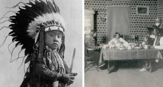 Queste sono le ultime foto della tribù dei Crow, poco prima che fosse eliminata dai coloni bianchi