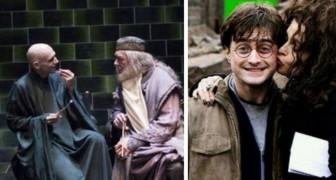 30 photos rares du tournage de Harry Potter qui vous rempliront de nostalgie