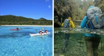 14 endroits que les amateurs d'eau cristalline ne devraient pas manquer de visiter