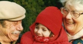 Hennes morföräldrar gjorde att hon aldrig saknade sin far: 20 år senare kommer ett hjärtskärande brev fram